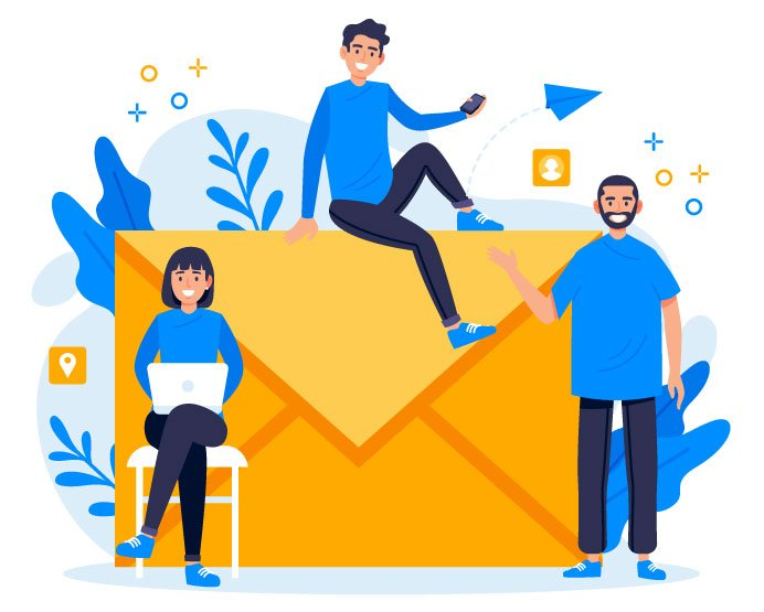 Email Marketing Landing Page