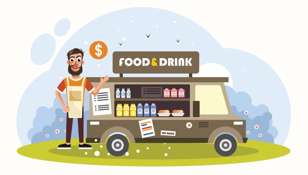 Food and Beverages Online Marketing